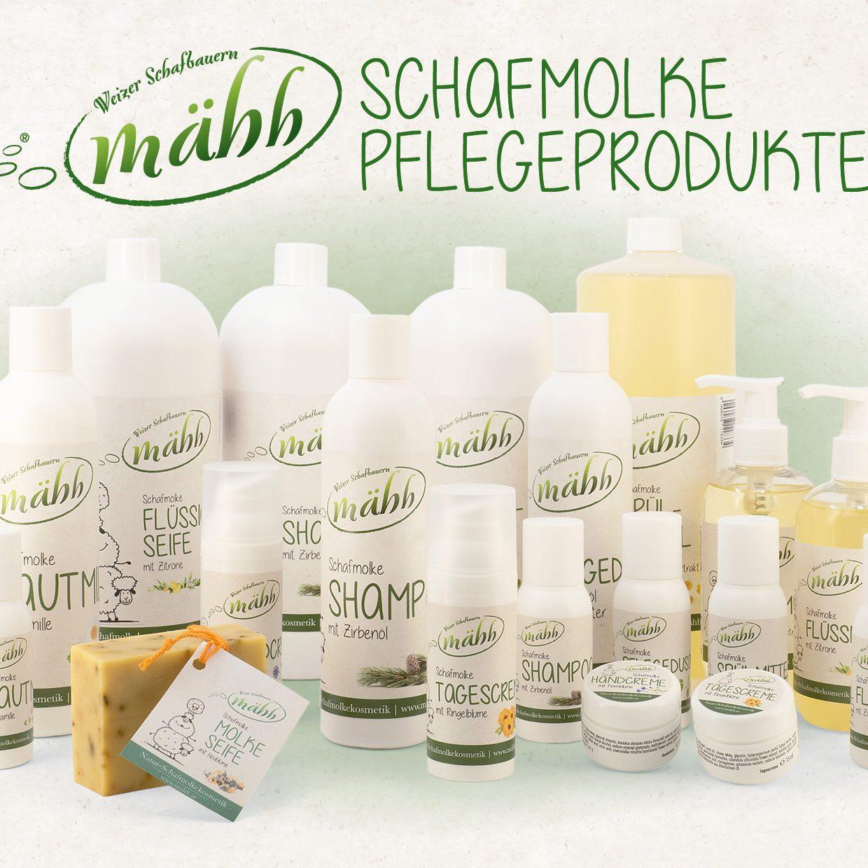 Pflegeprodukte-Gruppe-Bild-mit-Produkttext-und-Logo